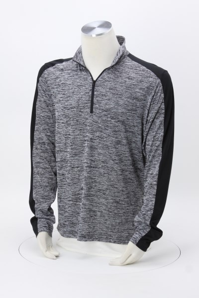 Voltage Colorblock 1/4-Zip Pullover - Men's - Embroidered 360 View