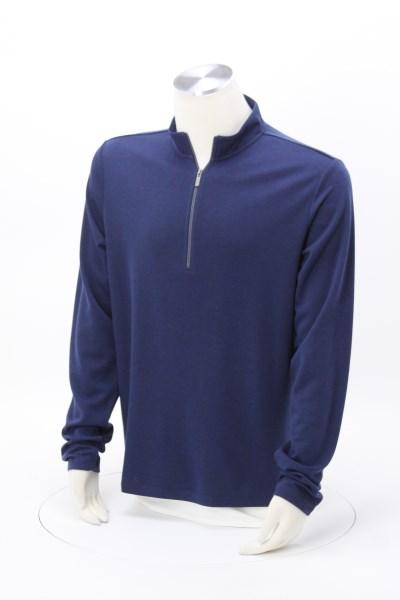 Stratton Wool Blend 1/4-Zip Knit Pullover - Men's 360 View