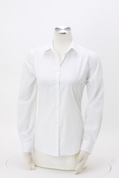Carefree Poplin Shirt - Ladies' 360 View