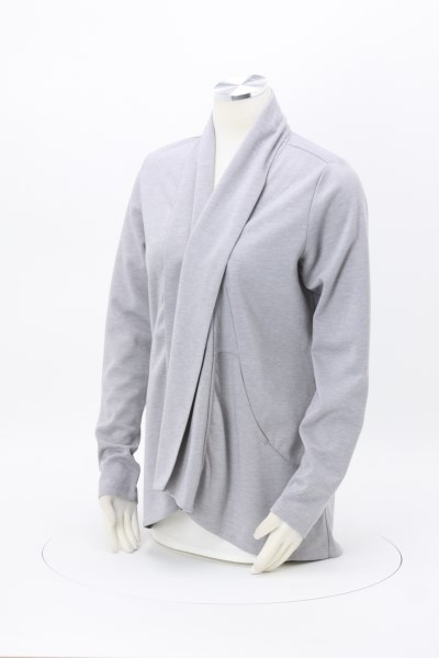 Bromley Wool Blend Open Blazer 360 View