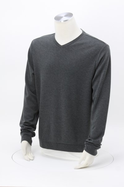 Bromley Wool Blend Knit V-Neck Knit Top - Men's 360 View