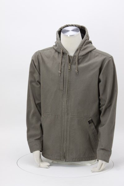 DRI DUCK Laredo Hooded Canvas Jacket 360 View