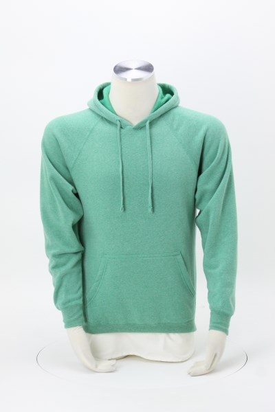Independent Trading Co. Raglan Hoodie - Embroidered 360 View