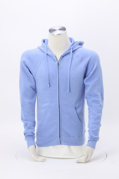 Independent Trading Co. Full-Zip Hooded Sweatshirt - Embroidered 360 View