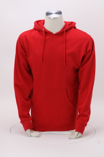 Independent Trading Co. Midweight Hoodie - Embroidered 360 View