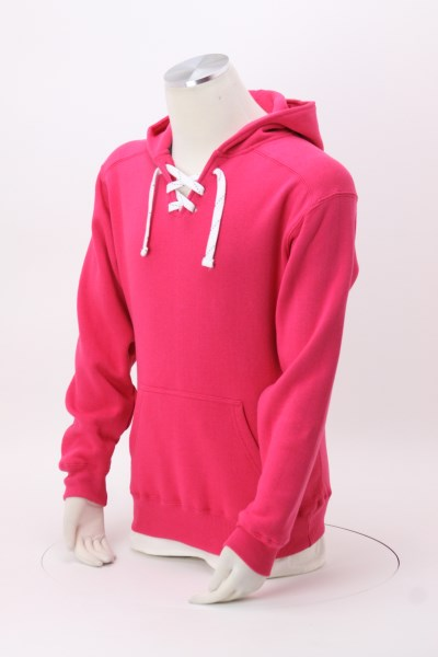 J. America Sport Lace Hoodie - Embroidered 360 View