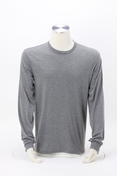 Optimal Tri-Blend Long Sleeve T-Shirt - Men's - Screen 360 View