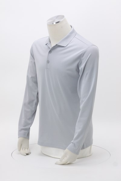 adidas Golf Climalite Long Sleeve Polo - Men's 360 View