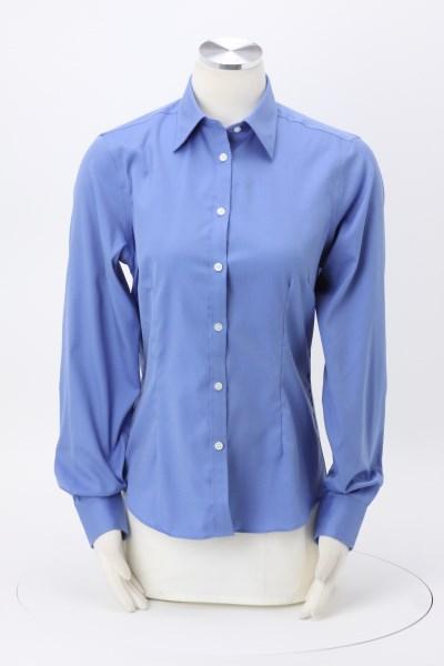 Van Heusen Non Iron Pinpoint Oxford Shirt - Ladies' 360 View
