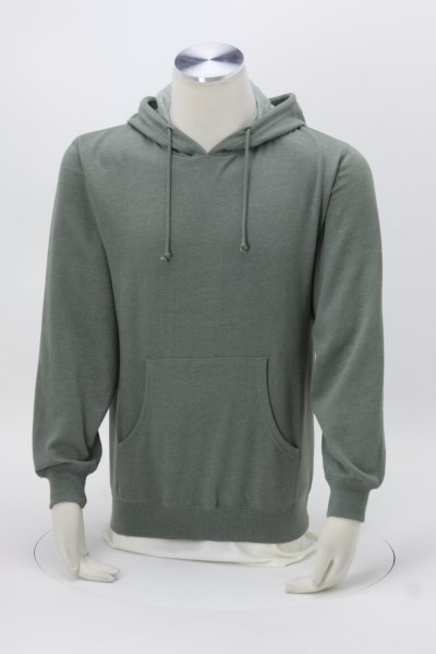 Econscious Heathered Fleece Hoodie - Embroidered 360 View