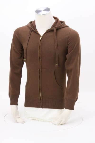 Econscious 9 oz. Full-Zip Hoodie - Men's - Embroidered 360 View