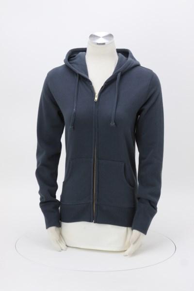 Econscious 9 oz. Full-Zip Hoodie - Ladies' - Embroidered 360 View
