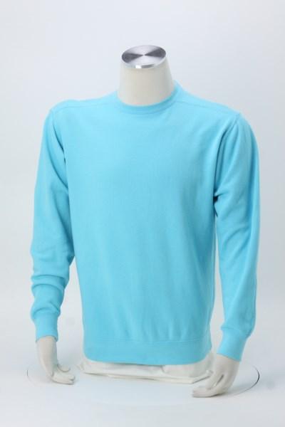 Comfort Colors Garment-Dyed Crew Sweatshirt - Screen 360 View