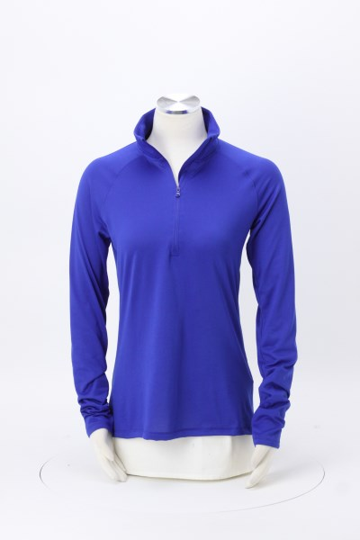 Under Armour Corporate Tech 1/4-Zip Pullover - Ladies' - Full Color 360 View