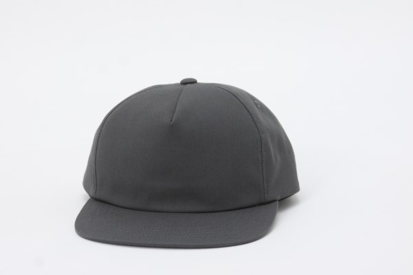 Yupoong Unstructured 5 Panel Snapback Cap 360 View