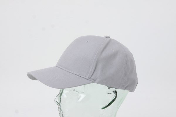 UltraClub Classic Cut Chino Cotton Twill Structured Cap 360 View