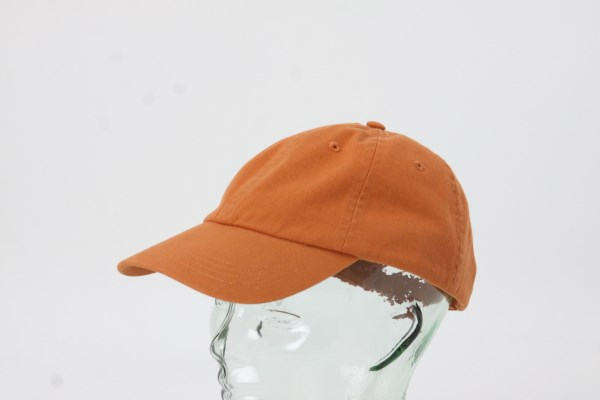 UltraClub Classic Cut Chino Cotton Twill Unconstructed Cap 360 View