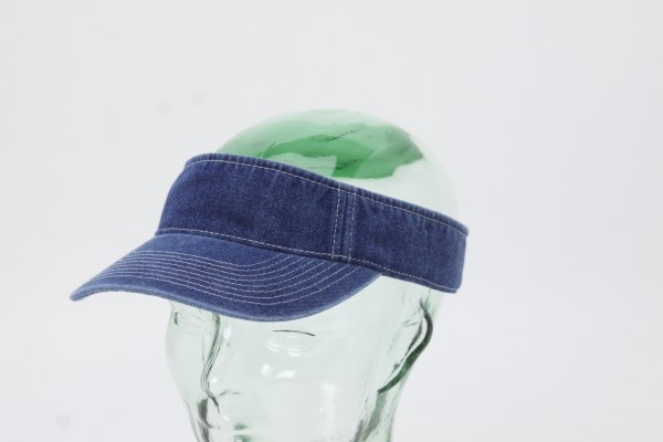 Washed Denim Visor 360 View