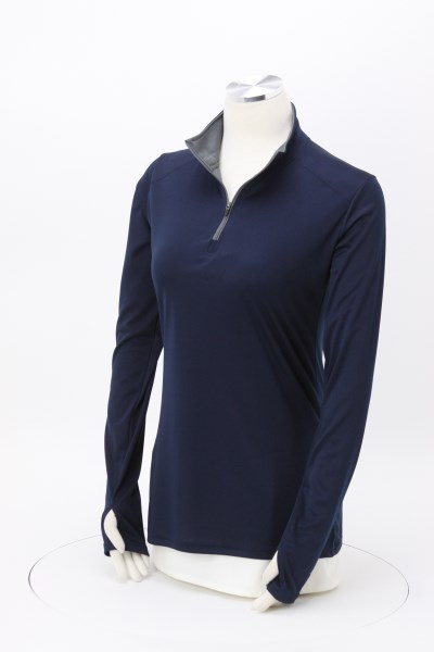 Badger Sport B-Core 1/4-Zip Pullover - Ladies' - Embroidered 360 View