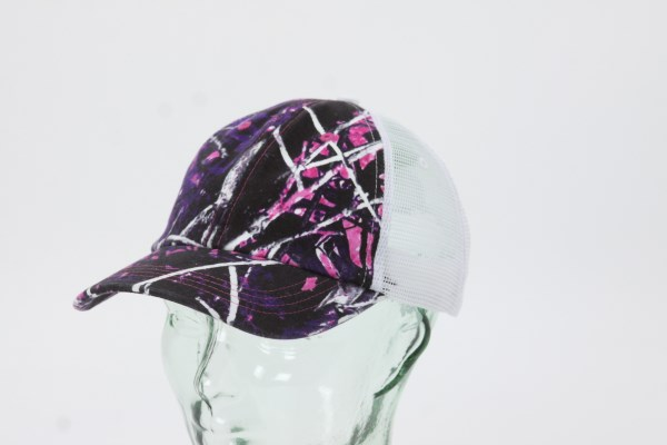 Kati Unstructured Washed Mesh Cap 360 View