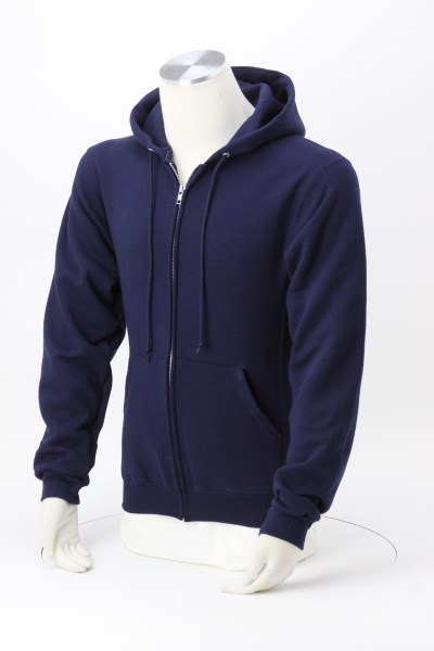 Russell Athletic Dri-Power Hooded Full-Zip Sweatshirt - Embroidered 360 View
