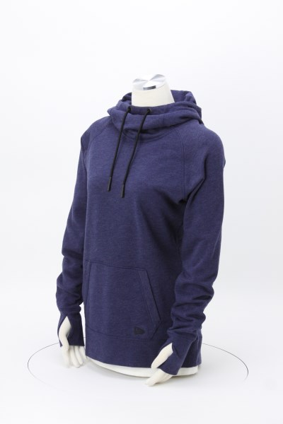 New Era Tri-Blend Hoodie - Ladies' - Embroidered 360 View