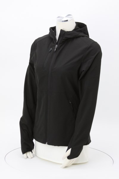DRI DUCK Ascent Hooded Soft Shell Jacket - Ladies' 360 View