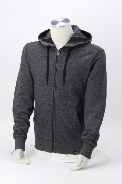 New Era French Terry Full-Zip Hoodie - Men's - Embroidered 360 View