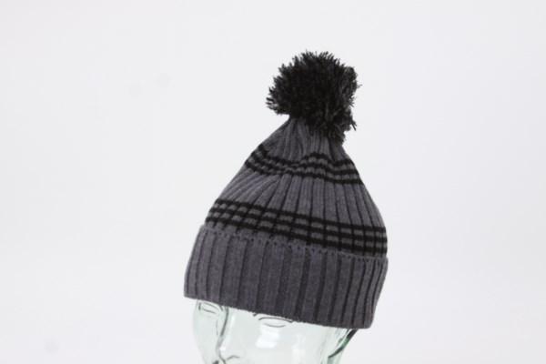 fc3e171e904 4imprint.com  Multi-Stripe Rib Knit Beanie 145185