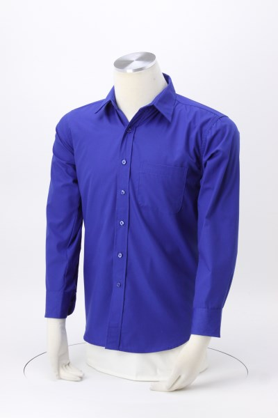 Superblend Untucked Poplin Shirt 360 View