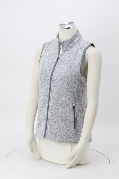 Sweater Fleece Vest - Ladies' 360 View