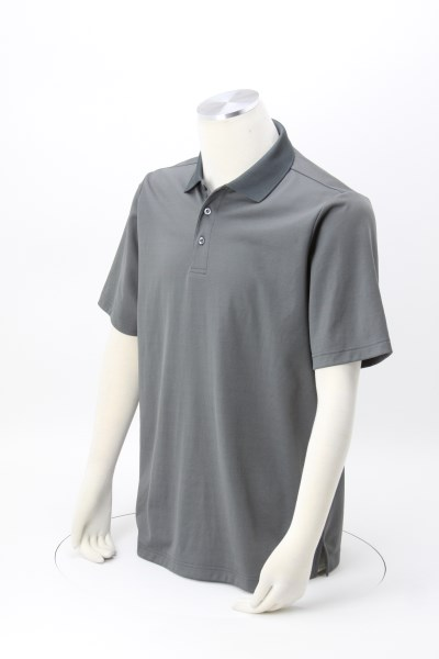 CrownLux Performance Plaited Polo - Men's 360 View