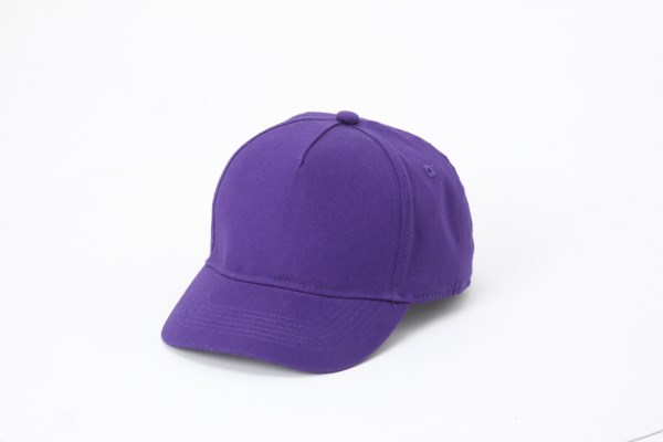 UltraClub Classic Cut Cotton Twill 5 Panel Cap - Youth 360 View