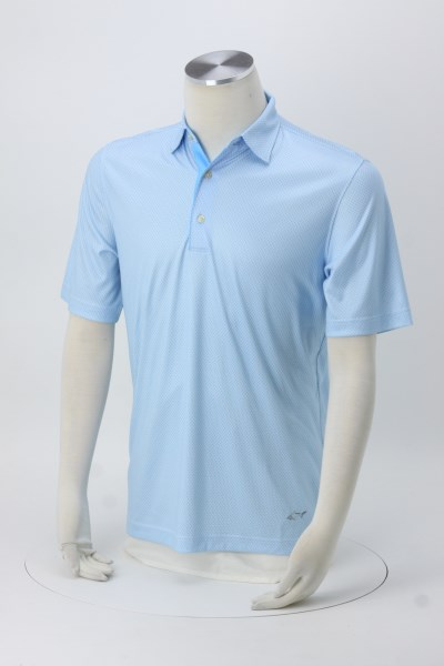 Greg Norman Foulard Print Polo - 24 hr 360 View