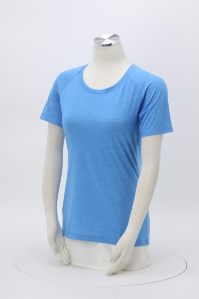 Voltage Tri-Blend Wicking T-Shirt - Ladies' - Screen 360 View