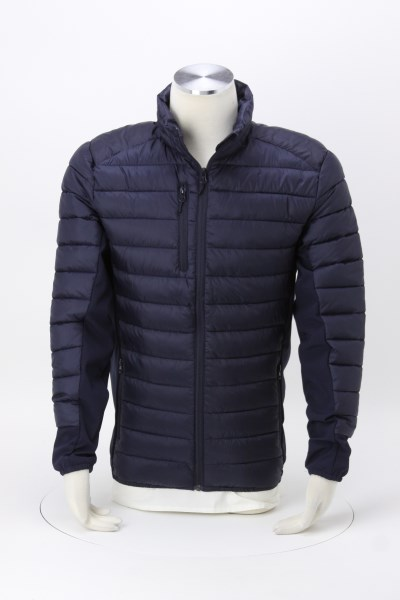 Lemont Quilted Hybrid Jacket - Men's 360 View