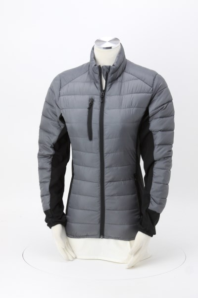 Lemont Quilted Hybrid Jacket - Ladies' 360 View