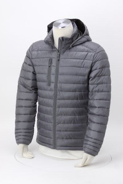 Hudson Quilted Hooded Jacket - Men's 360 View