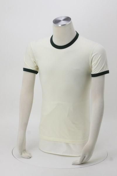 Next Level Cotton Ringer T-Shirt - Men's - Screen 360 View