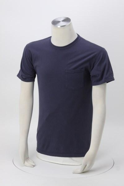 Hanes ComfortWash Garment-Dyed Pocket Tee - Screen 360 View