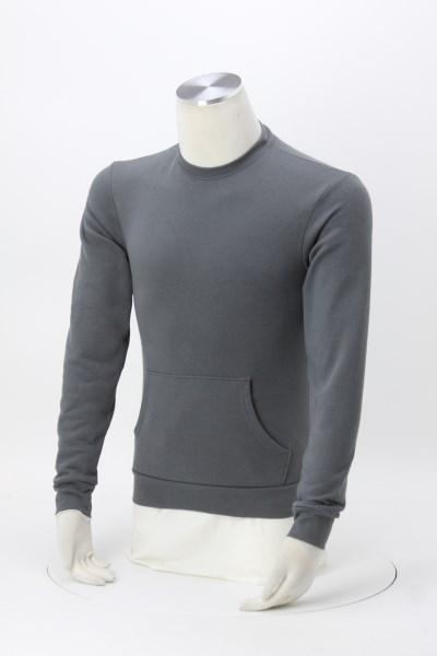 Next Level Crewneck Pocket Sweatshirt - Embroidered 360 View