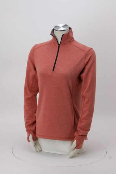 J. America Omega Stretch 1/4-Zip Pullover - Ladies' 360 View