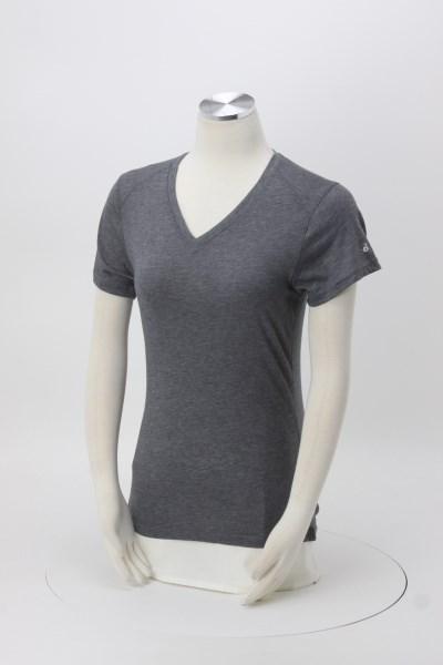 Badger Sport Tri-Blend Performance V-Neck T-Shirt - Ladies' - Screen 360 View