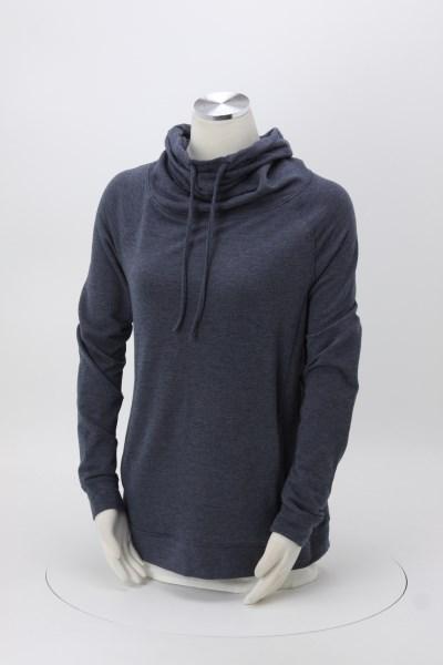 Weatherproof Heat Last Funnel Neck Sweatshirt - Ladies' - Embroidered 360 View