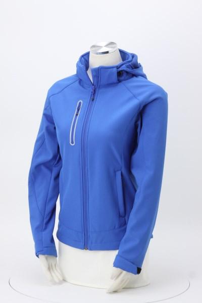 Milford Microfleece Lined Hooded Jacket - Ladies' 360 View
