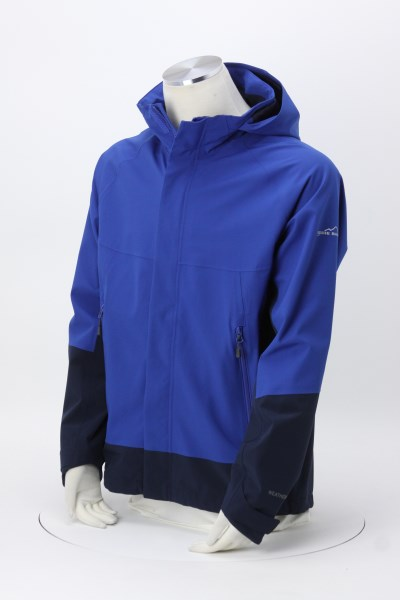 cab8bc9c718f 4imprint.com  Eddie Bauer Waterproof Rain Jacket - Men s 147738-M