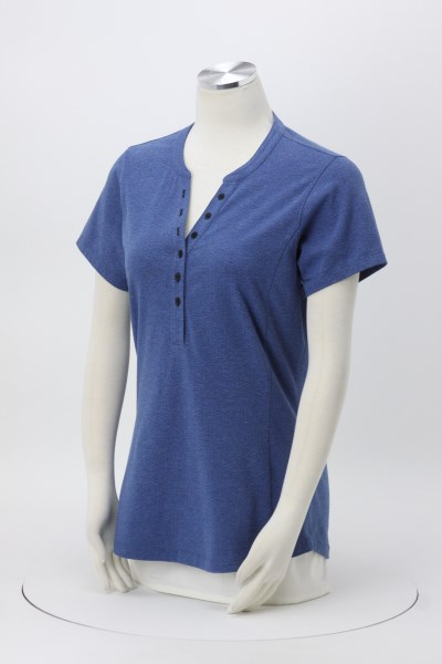 OGIO Trace Henley - Ladies' 360 View