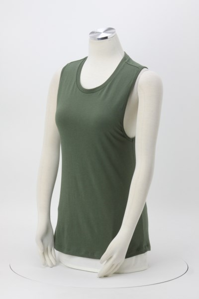 Bella+Canvas Jersey Muscle Tank - Ladies' 360 View