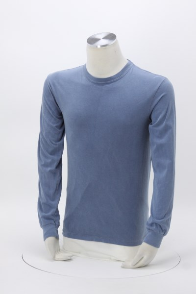 Comfort Colors Garment-Dyed 6.1 oz. LS T-Shirt - Screen 360 View