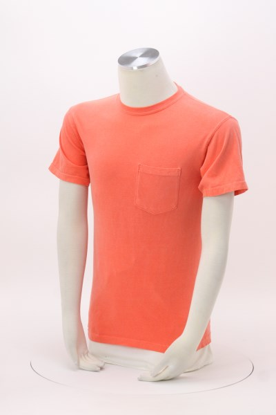 Comfort Colors Garment-Dyed 6.1 oz. Pocket T-Shirt - Screen 360 View